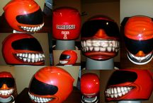 Motorcycle helmets custom painted / 0 / by Zimmer DesignZ Airbrush Shop