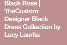 The Black Rose Dress Collection