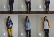 Ideas for a capsule wardrobe ... / by Knitty Bitties