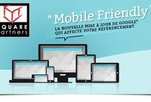 R for... Responsive Design / Google®: nouveau virage pour nos sites internet #mobilefriendly Il est temps de passer aux sites compatibles mobiles ! Être lisible sur plusieurs écrans est la solution pour être mieux apprécié par le géant Google®