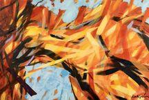 Leszek Waligora, Artiste peintre / La mer, les océans, les bateaux, la course au large.... Le corps des femmes... Toute la passion de Leszek Waligora dans ces toiles immenses et vivantes
