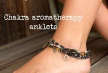 essential oil anklets
