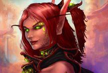 Elf ● Blood ● Female