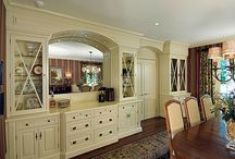 dining room built-ins... / by Elizabeth Pickering