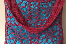 Crocheted Tote Bags