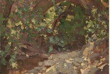 4.3   GARDENS in ART 02-Greek Artists / Greek Artists- Gardens.