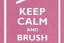 Cute dental signs