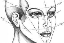 como dibujar rostros