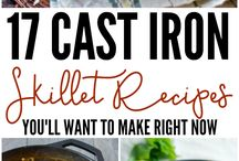 cast iron skillet recipies