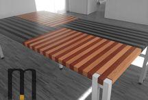 Table Design / Table Design by Mazzocca Wood Design Lab  http://www.mazzocca.org/galleria/tavoli/