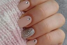 Nail art design for winter
