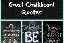 Chalkboard Inspirations