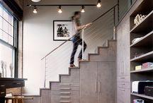 escadas construção