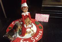 Our Elf on the shelf. 2014. / Elf on the shelf. Buddy