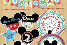 IDEE per feste compleanno Mickey Mouse