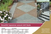 Product Promotions from O&G / Get ready for a Sizzling Summer with a project created from the stunning Scoutmoor, Aqua Stone, or Emerald Green sandstone products!