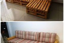 Decorando com pallets