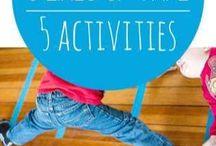 cvičení děti