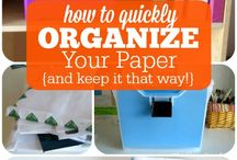 Paper Organization / Organizing the paper stuff in our lives can be a tedious task.  This board is a collection of ideas, useful tutorials, tips and tricks to make organizing the papers in our lives easier.