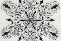 Zentangle tattoo