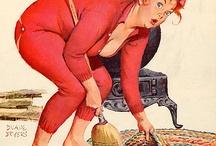 Illustrasjon Duane Bryers ( Hilda )