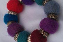 nemez ékszereim - my handmade felt jewels / Rendelhető, megvásárolható saját készítésű nemez ékszerek