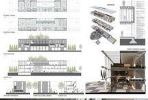paneles / paneles de arquitectura