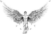Тату ангел