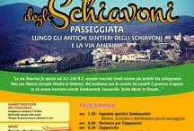 Antichi Itinerari degli Schiavoni / percorsi trekking & Mountain bike