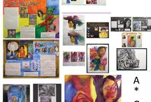 GCSE/a level sketchbook examples
