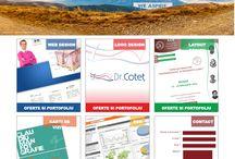 Webdesign / Design pagini de internet.
