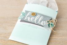 SAB 2016 - Hello / Cards using the Hello stamp set from Stampin' Up!'s Sale-a-bration catalogue 2016
