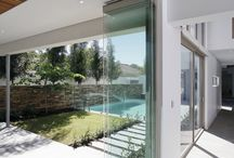 frameless stacking doors
