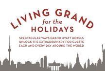 LIVING GRAND FOR THE HOLIDAYS / #GrandHyattBeijing #Hyatt #LivingGrandfortheHolidays / by Grand Hyatt Beijing At Oriental Plaza