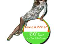I Am a Warrior 180-Degree Tour / I, along with many other celebrities and guest speakers, will be visiting several cities around the country helping YOU turn your life around!