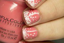 Cute nail ideas! / Cute nail ideas, tips and tricks!!! / by Valerie Sonustun