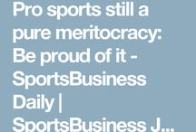 meritocracy in sport debate