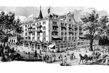 Hotel Interlaken - historical pictures / Once upon a time.... / by Hotel Interlaken