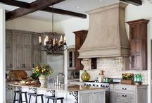 Rustic Kitchens / My personal fave when it comes to designing a kitchen, the heart of the home