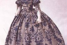 1850s dresses / by Annalisa Oswald