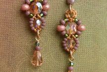 Beaded Earrings &  Rings / by Rhonda Garvey