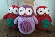 ANIMAUX TRICOT/CROCHET