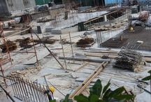Casino development / Construction phases of the Club Liberté casino in the Seychelles.