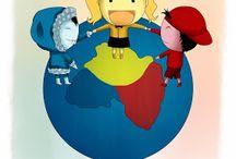 """Cuentos del """"aula del mundo"""" / cuentos para nuestra aula del mundo"""