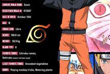 NARUTO(Shippuden) Character info