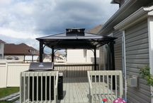 Gazebo Assemblies / A board for all our gazebo assembly projects
