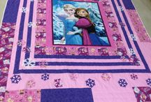 Elsa and Anna quilt