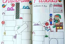 Xmas Bullet Journal Ideas