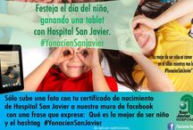 Día del niño Hospital San Javier / Dinámica #YonacíenSanJavier