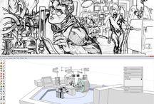 comics artists WIP